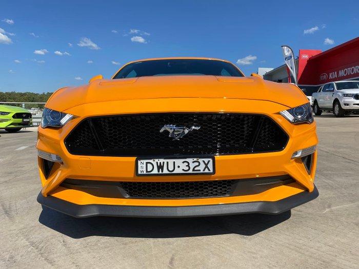 2018 Ford Mustang GT FN MY18 Orange Fury