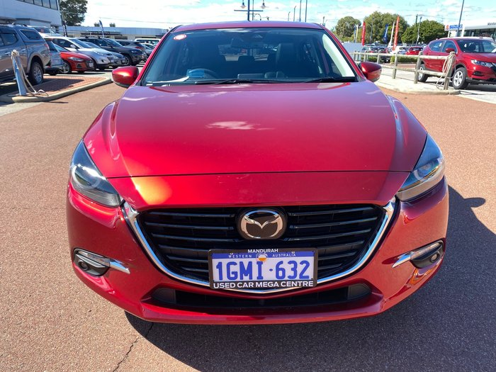 2018 Mazda 3 SP25 Astina BN Series Soul Red Crystal