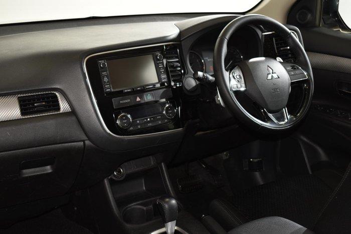 2016 Mitsubishi Outlander XLS ZK MY16 4X4 On Demand Black