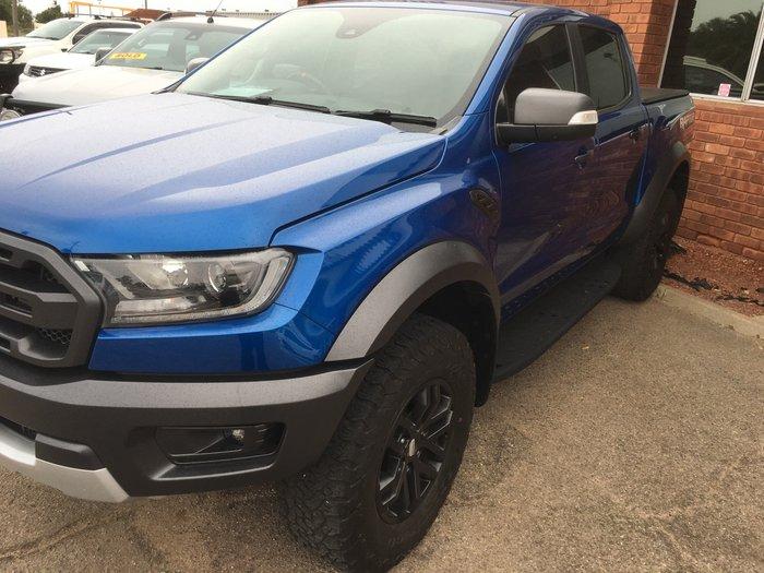 2018 Ford Ranger Raptor PX MkIII MY19 4X4 Dual Range Lightning Blue