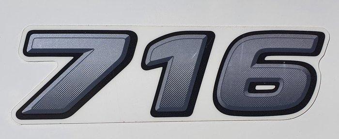 2015 HINO 300 WHITE