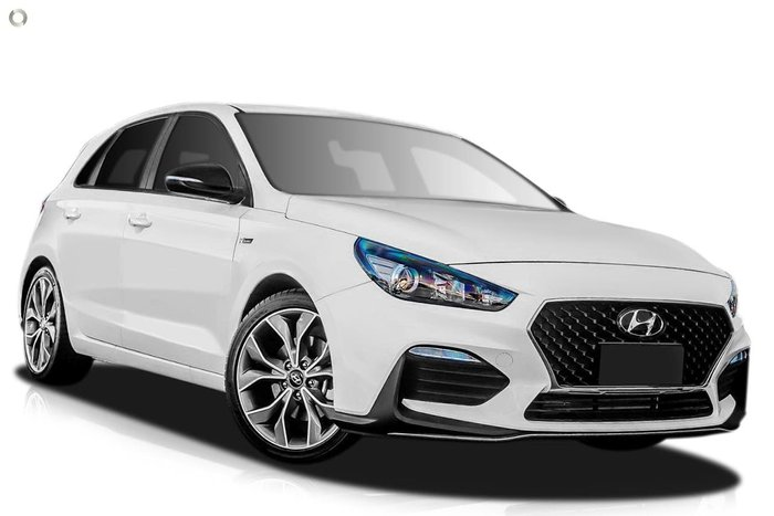 2020 Hyundai i30 N Line PD.3 MY20 White