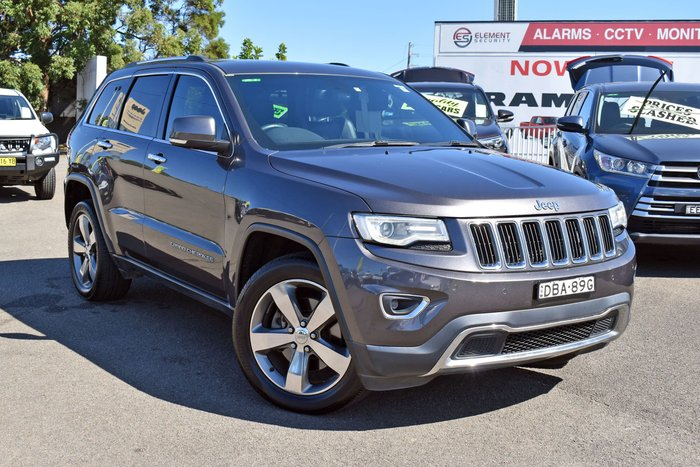 2014 Jeep Grand Cherokee Limited WK MY14 4X4 Dual Range Brilliant Black