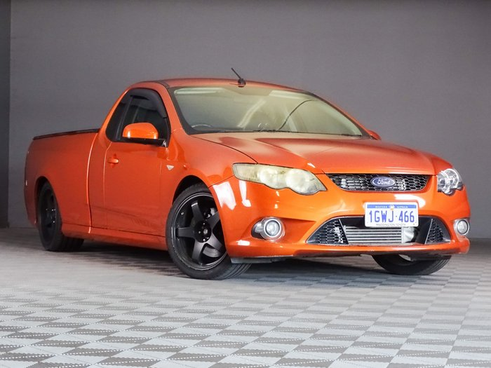 2010 Ford Falcon Ute XR6 Turbo FG Orange