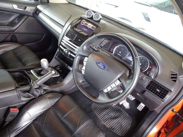 2010 Ford Falcon Ute XR6 Turbo FG Orange