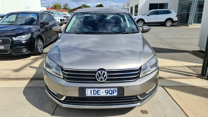 2015 Volkswagen Passat 118TSI Type 3C MY15 Brown