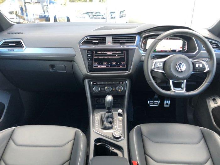 2021 Volkswagen Tiguan 140TDI Highline Allspace 5N MY21 Four Wheel Drive Platinum Grey