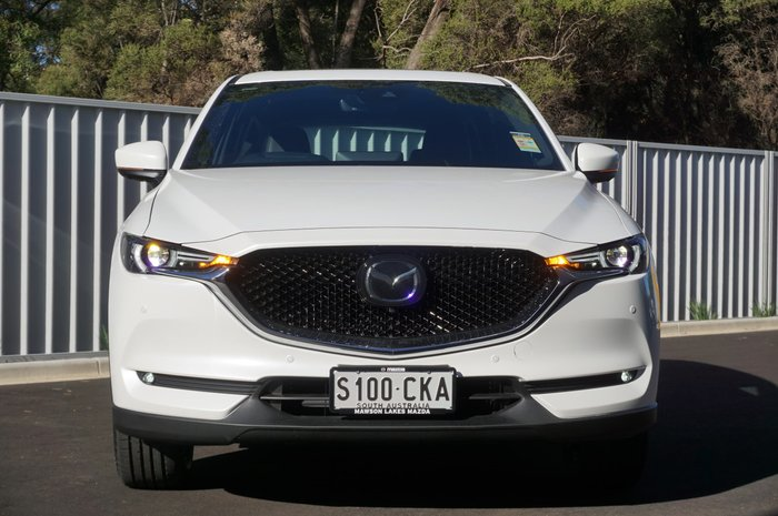 2021 Mazda CX-5 Akera KF Series AWD Snowflake White Pearl