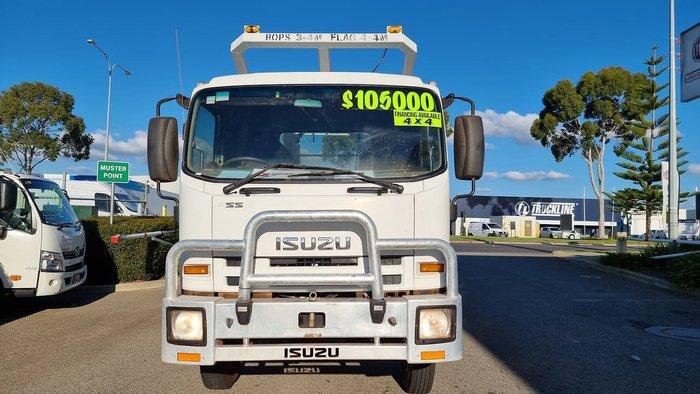2012 ISUZU FSS 550 WHITE
