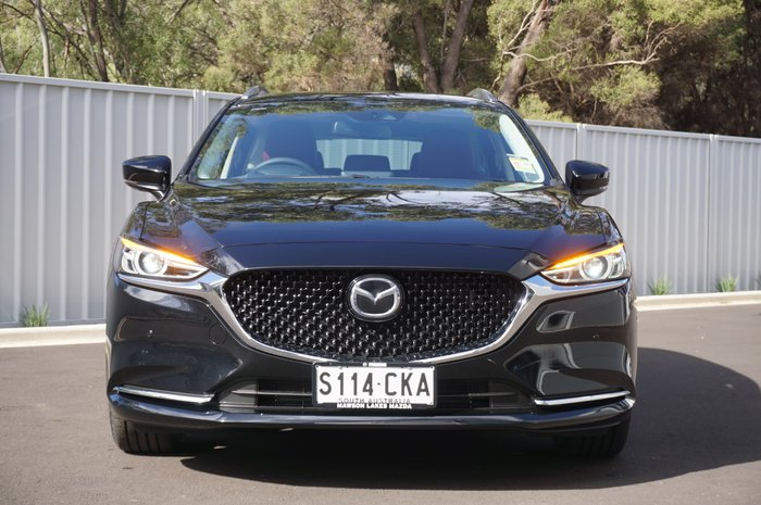 2021 Mazda 6 GT SP GL Series Jet Black