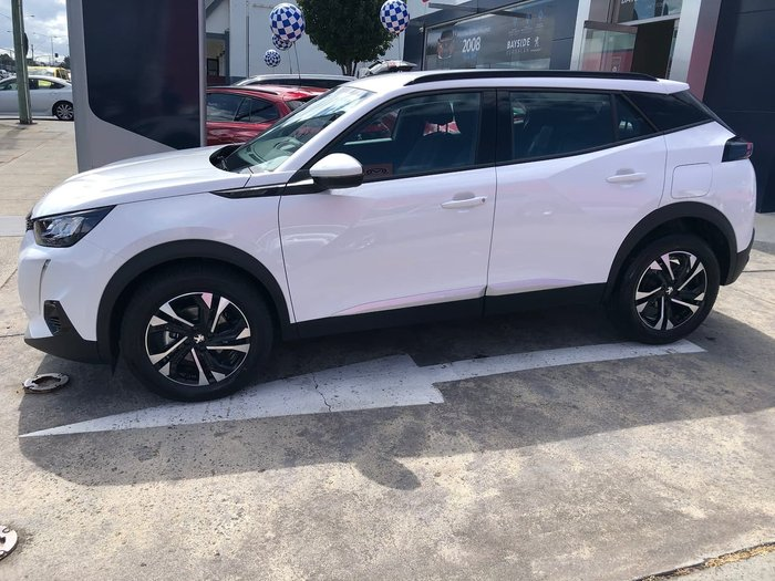 2020 Peugeot 2008 Allure P24 MY21 White
