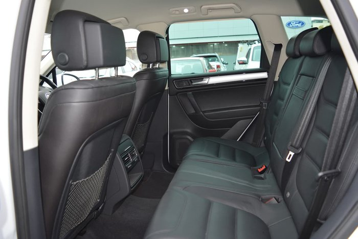 2016 Volkswagen Touareg 150TDI Element 7P MY16 Four Wheel Drive White
