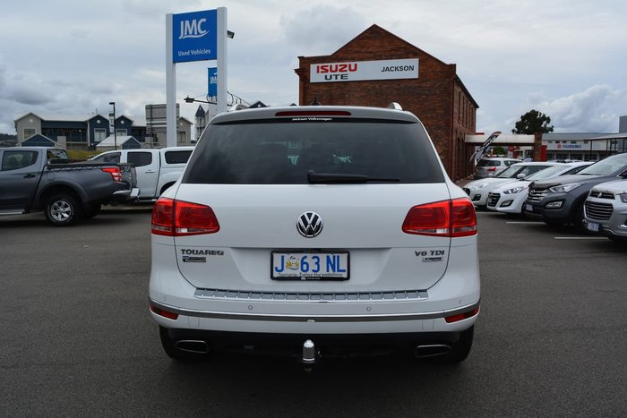 2016 Volkswagen Touareg 150TDI Element 7P MY16 Four Wheel Drive White