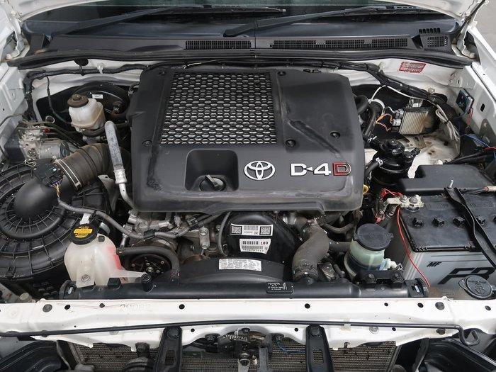 2015 Toyota Hilux SR KUN26R MY14 4X4 Dual Range White