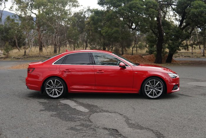2017 Audi A4 S line B9 MY18 Four Wheel Drive Red