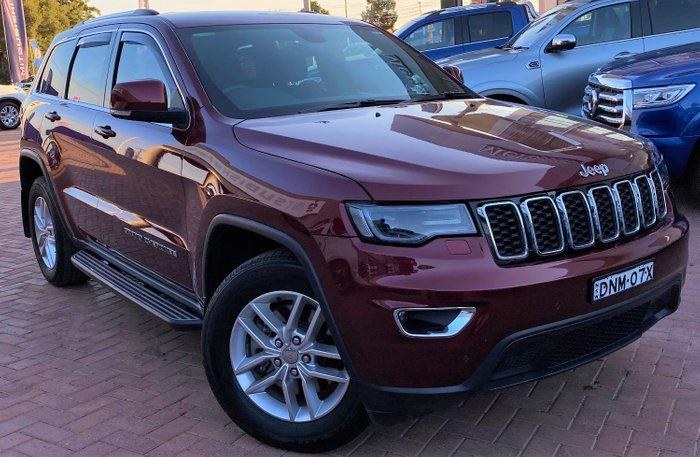 2017 Jeep Grand Cherokee Laredo WK MY17 4X4 Dual Range Maroon