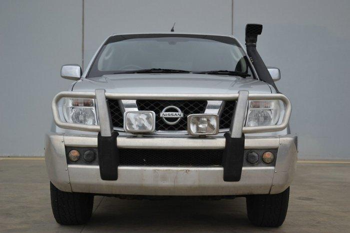 2006 Nissan Navara ST-X D40 SILVER