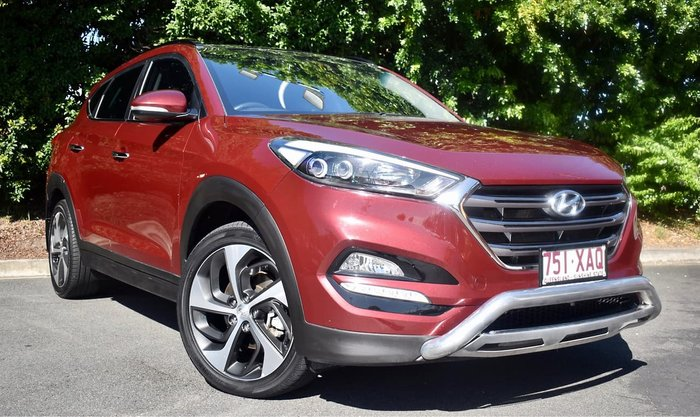 2016 Hyundai Tucson Elite TLe MY17 AWD Red