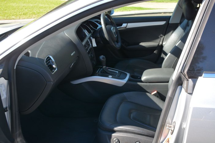2011 Audi A5 8T MY11 Ice Silver