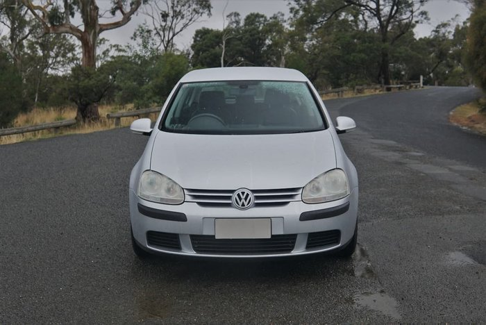 2005 Volkswagen Golf Comfortline V Silver