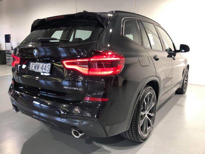 2020 BMW X3 xDrive30d M Sport G01 4X4 Constant Black