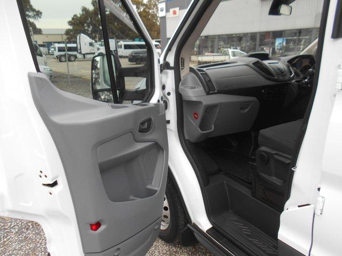 2016 FORD TRANSIT 470E RWD White