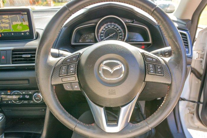 2014 Mazda 3 Touring BM Series Snowflake White Pearl