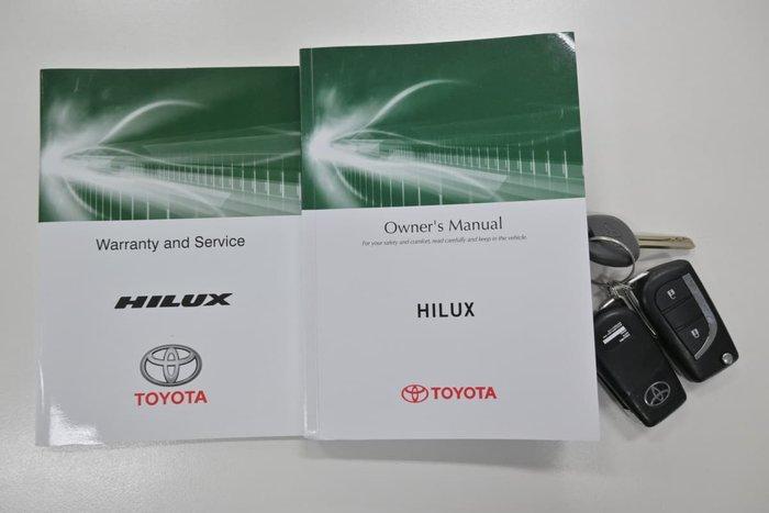 2016 Toyota Hilux Workmate GUN122R Glacier White