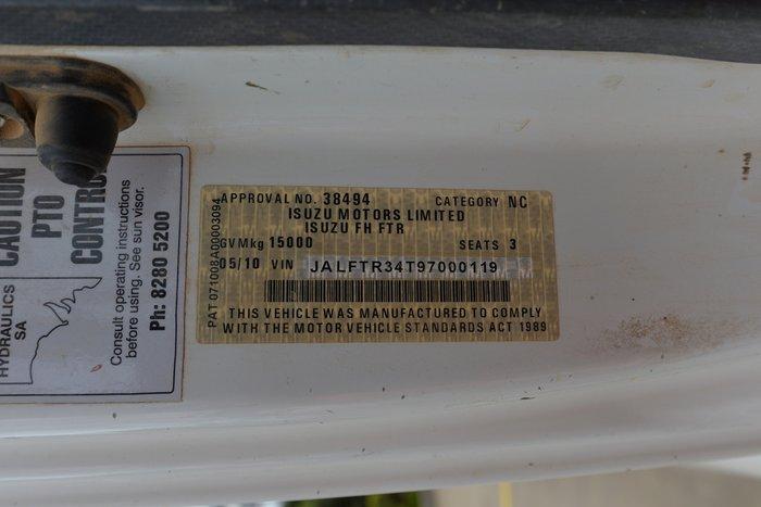 2010 ISUZU FTR 900 WHITE