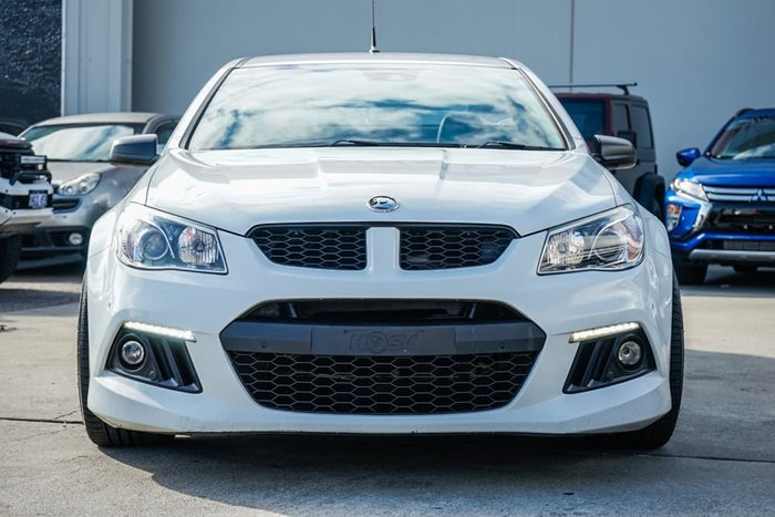 2015 Holden Special Vehicles Maloo R8 GEN-F MY15 Heron White