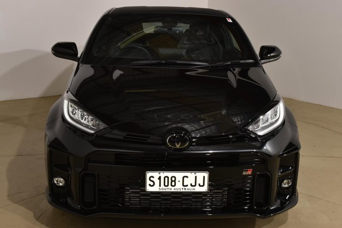 2021 Toyota Yaris GR GXPA16R Four Wheel Drive Tarmac Black