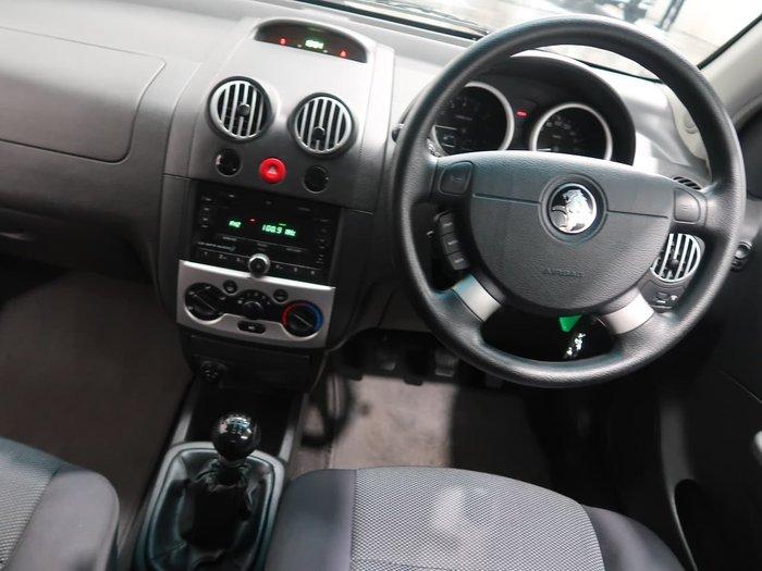 2007 Holden Barina TK MY07 Silver