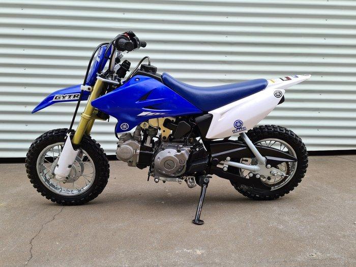 2014 Yamaha TT-R50E TT-R Team Yamaha Blue & White