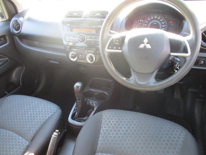 2014 Mitsubishi Mirage ES LA MY15 White
