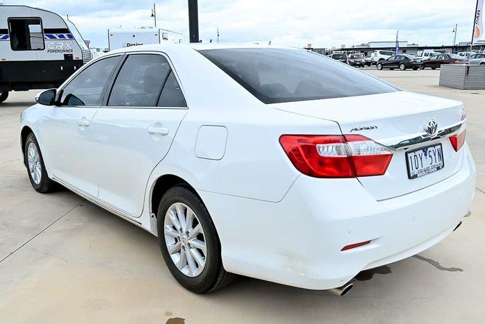 2014 Toyota Aurion AT-X GSV50R White