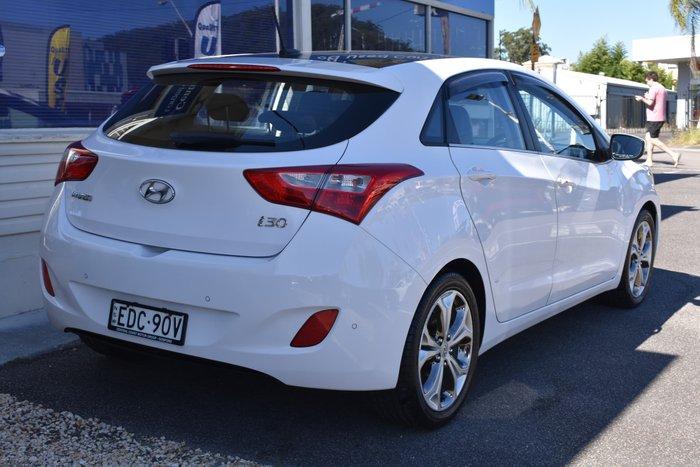2012 Hyundai i30 Premium GD Creamy White