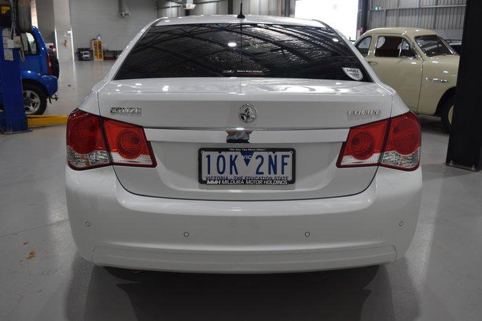 2014 Holden Cruze Equipe JH Series II MY14 Heron White
