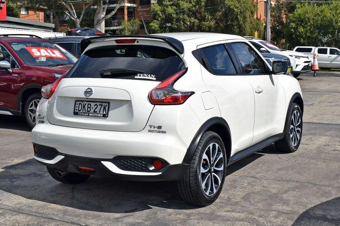 2015 Nissan JUKE Ti-S F15 Series 2 AWD White
