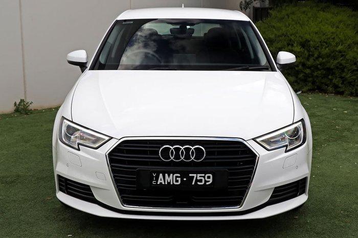 2017 Audi A3 8V MY17 White