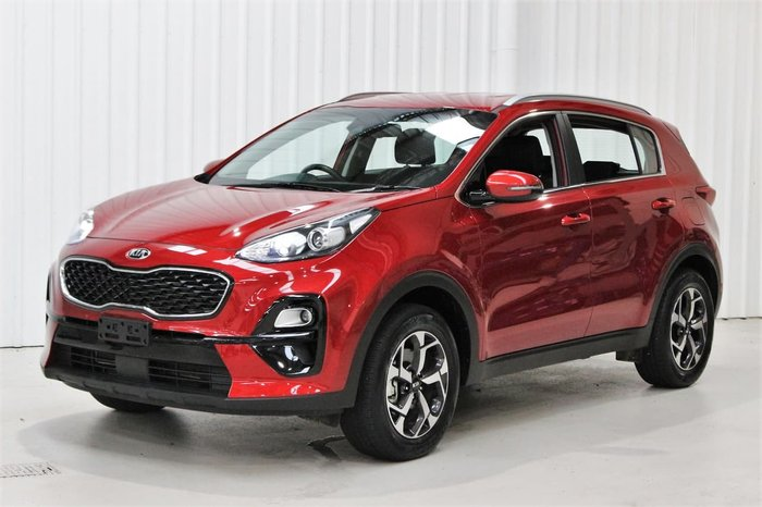 2020 Kia Sportage S QL MY20 Red