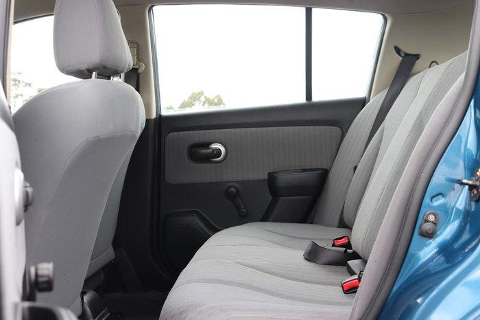 2008 Nissan Tiida ST C11 MY07 Blue