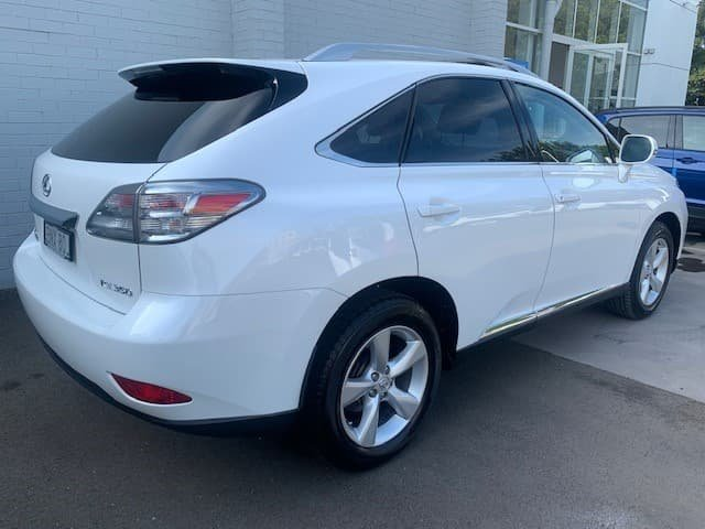 2010 Lexus RX RX350 Prestige GGL15R 4X4 On Demand White Pearl