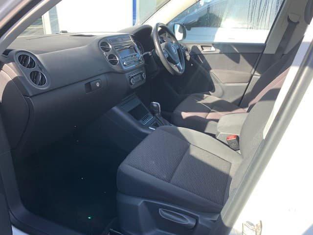 2013 Volkswagen Tiguan 132TSI Pacific 5N MY13.5 Four Wheel Drive Candy White