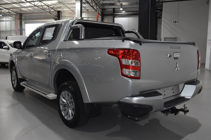 2017 Mitsubishi Triton Exceed MQ MY18 4X4 Dual Range Sterling Silver