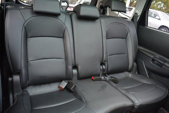 2013 Nissan Dualis +2 Ti-L J10 Series 3 MY12 AWD Silver