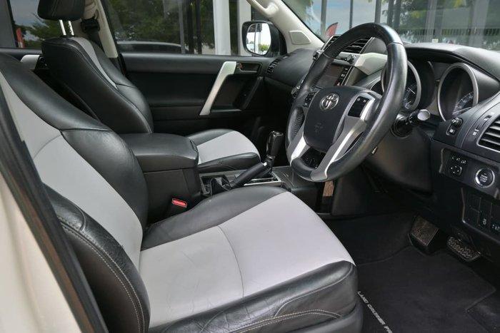 2014 Toyota Landcruiser Prado Altitude KDJ150R MY14 4X4 Dual Range Crystal Pearl