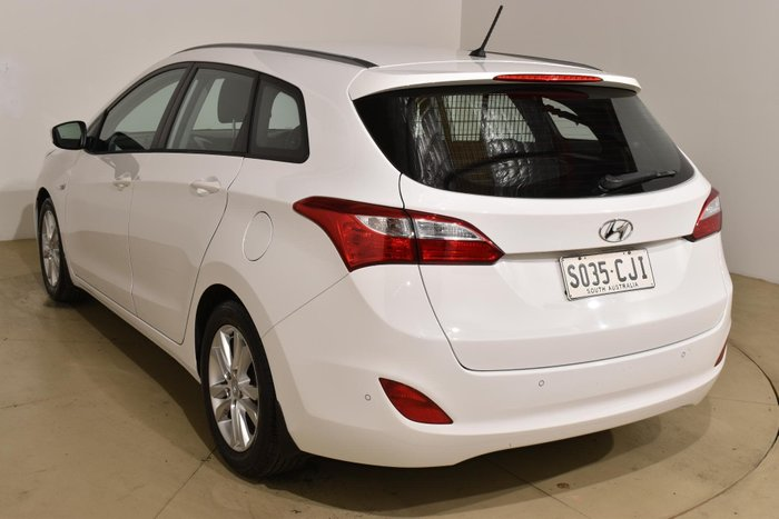 2013 Hyundai i30 Active GD Creamy White