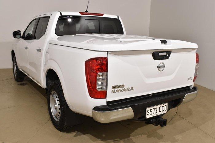 2015 Nissan Navara RX D23 4X4 Dual Range Polar White