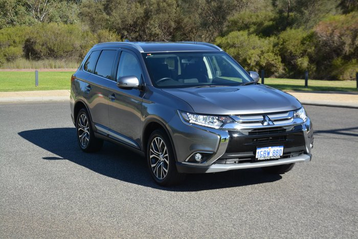 2017 Mitsubishi Outlander LS ZK MY17 4X4 On Demand Cool Silver