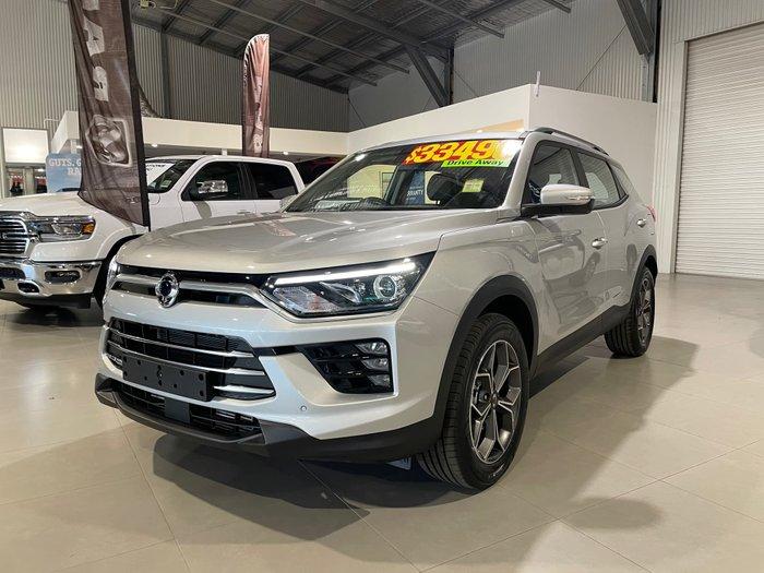 2021 SsangYong Korando ELX C300 MY21 Silent Silver